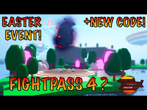 UPDATE! Fight Pass 4| New Easter Event| New CODE IN ANIME FIGHTING SIM